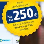 Bis zu 250€ Prämie für das Postbank Giro extra plus Girokonto