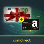 *ENDET HEUTE* 170€ Bonus für kostenloses comdirect Depot (schufafrei) + 50€ Aktivitätsprämie möglich