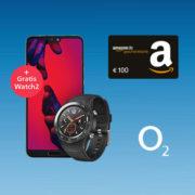 *KNALLER* o2 Free M mit 10GB LTE + 100€ Amazon-Gutschein + Top-Handys für je 1€