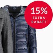 Engelhorn: 15% Extra-Rabatt auf Jacken - Tommy Hilfiger, Wellensteyn, Marc O'Polo, uvm.