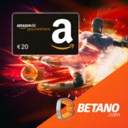 *LIVERPOOL - FCB* Betano: 20€ Amazon.de-Gutschein für 10€ Wetteinsatz (Neukunden)