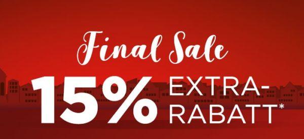 Engelhorn: Final Sale mit ordentlichen Rabatten + 15% on top