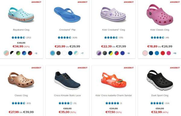 detailed look 3944e be216 Crocs: bis zu 50% Rabatt auf ausgewählte Crocs | MonsterDealz.de