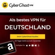 *GRATIS-KNALLER + GEWINN* 15 Monate CyberGhost VPN für 29€ + 35€ Gutschein *NUR ZUR BLACK WEEK*