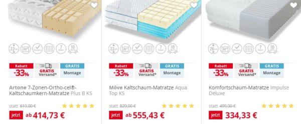 Möbel Höffner 33 Rabatt Auf Möbel Matratzen Monsterdealzde
