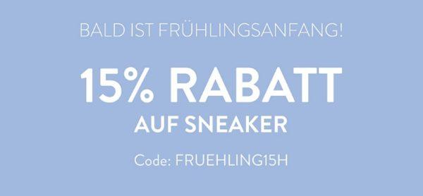 Mirapodo: 15% Rabatt auf Sneaker |
