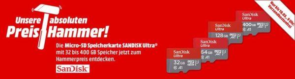 Mediamarkt Sd Karte.Mediamarkt Micro Sd Speicherkarten Z B Sandisk Ultra Uhs