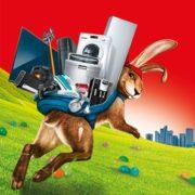 *OSTERN* *KNALLER* MediaMarkt: Geburtstags-Eier im neuen Prospekt - z.B. SONY KD-65XF8505 LED TV (Flat, 65 Zoll, UHD 4K, SMART TV, Android TV) + SONYHT-SF200 Soundbar für 999€