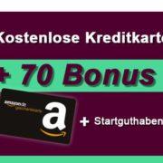 *TOP* *70€ BONUS* Hanseatic Genialcard (Visa Karte) mit 30€ Startguthaben + 40€ Amazon / BestChoice Gutschein