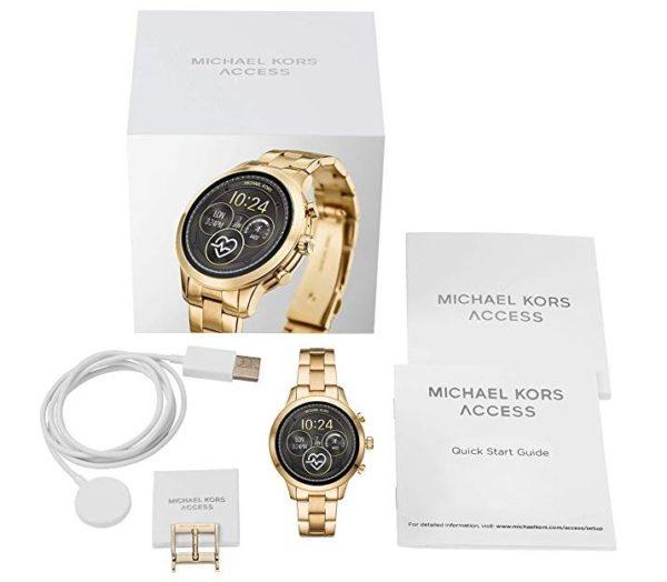 Michael Kors Damen Smartwatch Mit Edelstahl Armband Mkt5045 Fur 189