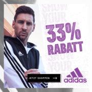 70 Jahre Adidas - 33% Rabatt auf über 5000 Artikel im Online-Shop (inkl. Sale!)