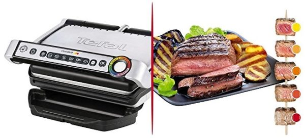 Tefal GC716D Optigrill+ - Kontakgrill - Banner