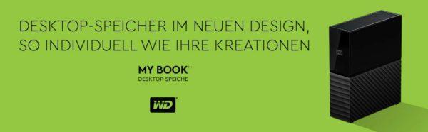 WD Western Digital - MyBook Festplatte - Banner