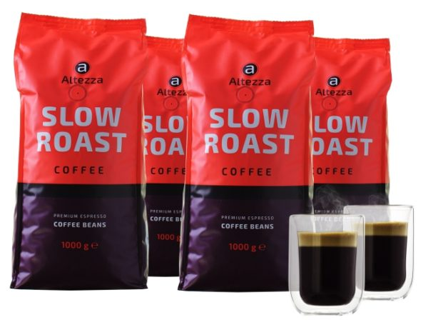 Altezza Slow Roast Coffee - Kaffeebohnen (4KG)