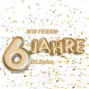 6 Monate BILDplus für einmalig 6€ zum Jubiläum