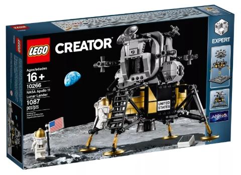 LEGO Creator NASA Apollo 11 Mondlandefähre (10266) in Verpackung