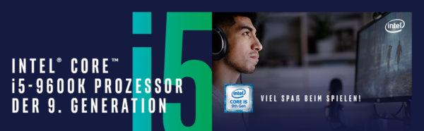 Intel Core i5 9600K - CPU - Banner