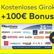 *TOP* 100€ für das kostenlose Girokonto von comdirect