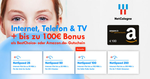 NetCologne - Bonus-Deal - Header
