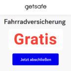Getsafe - Fahrradversicherung - Kostenlos - Guthaben - Thumbnail