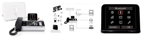 Gigaset DX 800 A VoIP-Telefon - Bilder