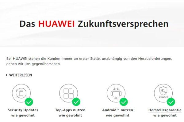 Huawei - Zukunftsversprechen