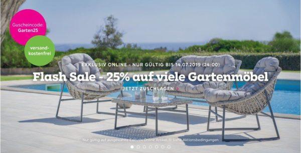 Momax 25 Rabatt Auf Viele Gartenmobel Keine Versandkosten