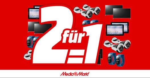 MediaMarkt - Tag der Freundschaft - 2 für 1