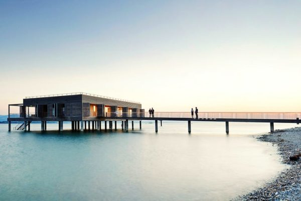 Badehaus vom SENTIDO Seehotel Am Kaiserstrand