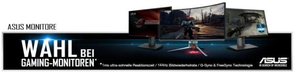 Asus - Monitor - Auswahl