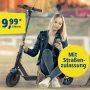 *TOP* E-Scooter zur LTE Allnet-Flat: 5GB/10GB/15GB LTE ab 34,98€/Monat im o2-Netz