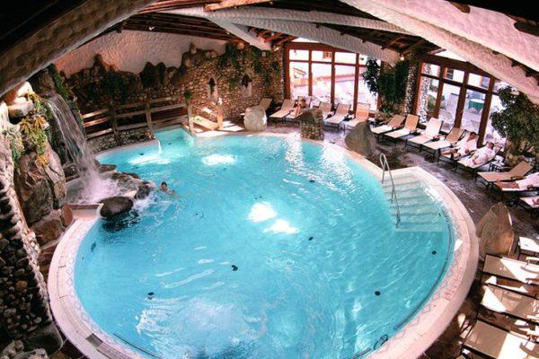 Hotel Bayerischer Wald Rimbach Schwimmbecken Innen