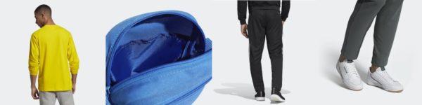 adidas back to school klamotten schuhe tasche hose