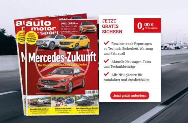 auto motor sport weck verlag aktionsseite