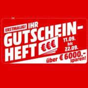 *TOP* MediaMarkt Gutscheinheft-Aktion - z.B. 2x GOOGLE Home Mini Smart Speaker mit Sprachsteuerung für 39€ (statt 60€)