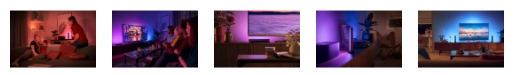 philips hue play starter set bilder