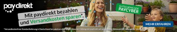alternate paydirekt versandkosten sparen aktion banner
