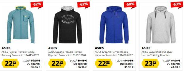 SportSpar: Asics Mega Sale mit bis zu 85% Rabatt