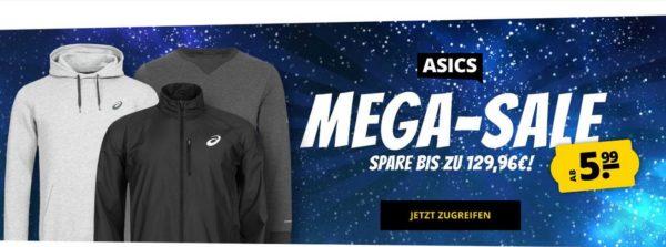 Asics Mega-Sale Banner