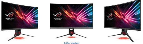asus rog strix xg32vq gaming monitor bilder