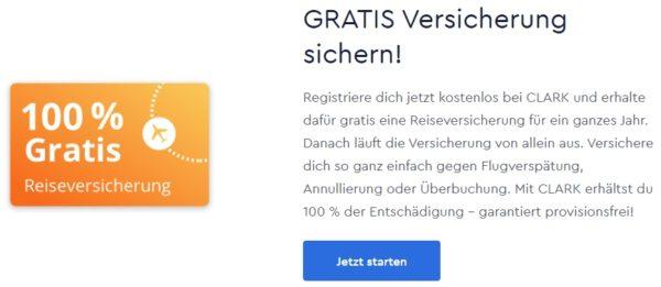 clark gratis reiseversicherung homepage
