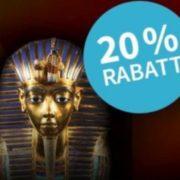"""*NEU- & BESTANDSKUNDEN* Lottohelden: Rubbellos der Woche """"Der Schatz des Pharao"""" mit bis zu 20% Rabatt"""