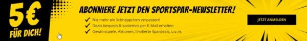 sportspar newsletter banner