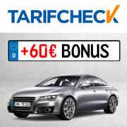Tarifcheck: KFZ-Versicherung wechseln, bis zu 850€ sparen & 60€ Amazon.de*/BestChoice-Gutschein* kassieren!