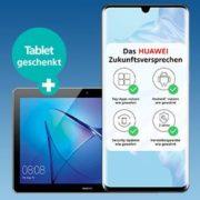 Huawei P30 Pro + 20GB LTE Allnet Flat für 34,99€/Monat + 140€ Amazon.de-Gutschein + Gratis Tablet
