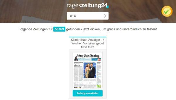 Kölner Tageszeitung