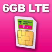 *ENDET UM 13 UHR* *KNALLER* 6 GB Telekom-LTE & Allnet für krasse 6,99€/Monat - inkl. Rufnummermitnahme & eSIM + Multi-SIM