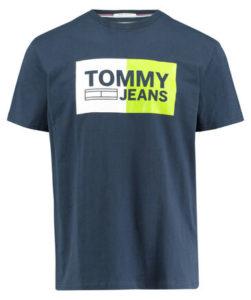 engelhorn-Tommy-Jeans-Herren-T-Shirt-Essential-Split-Box-Vorderansicht-V1002304K-v1