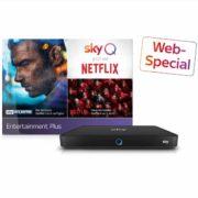 *KNALLER* 100€ Bonus auf jedes Sky Q-Paket - Sky Entertainment ab effektiv 5,24€/Monat