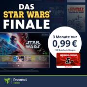*4,01€ GEWINN* 3 Monate freenet Video für 0,99€ + 5€ MediaMarkt-Gutschein - z.B. Star Wars: Der Aufstieg Skywalkers